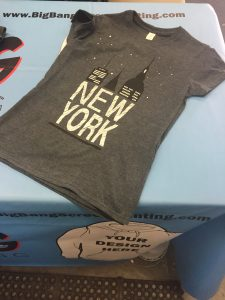 screen printing nyc t shirt